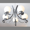 Coffee color wrought iron chandelier lighting Model: DY 8065-5