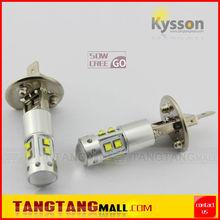H1 H3 880 881 T10 T15 BA9S white amber yellow red blue auto car fog light bulb led fog lamp 50W cree car led lighting