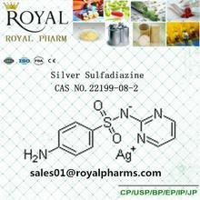 Silver Sulfadiazine Cas No.22199-08-2