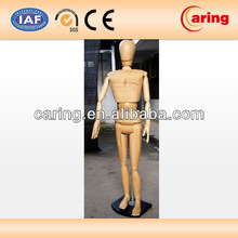 wooden male mannequins full body