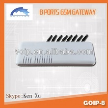 Hot product USSD/VPN/SMS goip 8 port goip gsm gateway Goip8 voip providers international