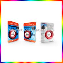 Hot selling evod blister/soft plastic blister packing /pvc plastic blister trays