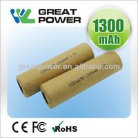 IEC62133 standard li-ion battery 18650 30a discharge high drain