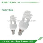 Energy Saving Lamp T2 Half Spiral 6W Bulb Lighting