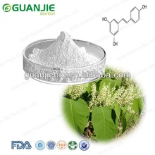 Resveratrol 20% 50%, 80% 98% and 99%, pure Trans- Resveratrol, Emodin free