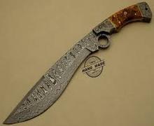 Custom handmade Damascus knife