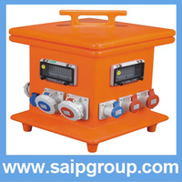 2014New mobile power socket box industrial electrical