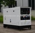 7- kva kva 30 silencioso portátil diesel gerador de solda conjunto