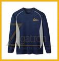 Camisas esportivas sublimação 100% com poliéster para a equipe de corrida