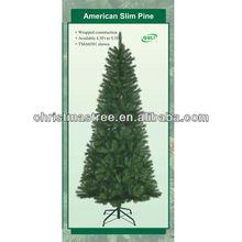 Alambre de metal del árbol de navidad