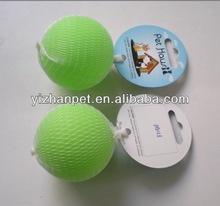 2014 pet toy for dog vinyl dog toys glow in the dark