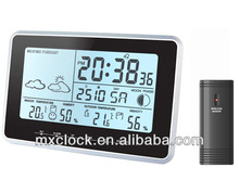 YD8203D touch key weather station digital outdoor clock mechanism