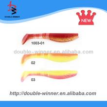 Top! DW1003 soft plastic fishing lures wholesale