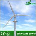 20kw de tono controlado la turbina de viento en la red