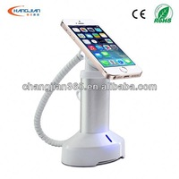 2013 new products anti-theft device for mobile phone security alarm electronic retail shop exhibition display safe with charger