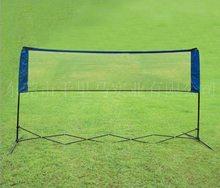 polyester, nylon badminton net with poles