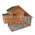 gallina de madera jaula
