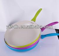 diamond coated ceramic frying pan