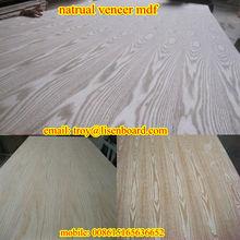 Red Oak/Cherry/ASh/Maple Wood veneered MDF