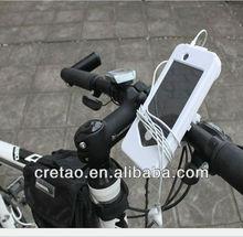 Bike 4 water proof phone bag ,mountain bike phone holder for iPhone5s