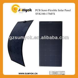 folding panel flexible sunpower panel sunpower solar panel sunpower cell sunpower panaels highest efficiency panel SYK100-17MFX