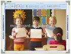 2014 interactive whiteboard,digital smart board,presentation equipment,projection screen,educational supplies