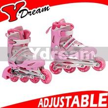 Size Adjustable Inline Skates Kids Flashing Roller Skates