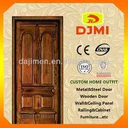 Good Quality Best Price Solid Core Panel Wooden Door PD-14