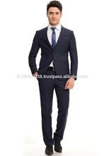 Wholesale Custom Slim Fit 2 button men suit OEM or Buy in stock item