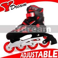 2014 new arrival High quality adjustable inline skate shoes flash roller skates,roller inline skate shoes with grey color