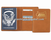 2014 High Quality PU Leather Passport Cover