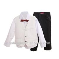 Boy 4 pieces pant shirt waistcoat