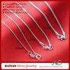 XD Y901-921-922 0.8/1.2/1.6mm 925 sterling silver bulk snake chain