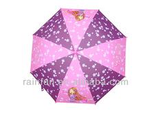 Made-in-China sex cartoon girl on umbrella designer kids umbrellas