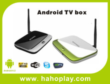 2014 New Model !!! tv box quad core android 4.2 with wifi