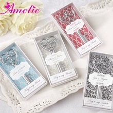 A8203 Personalized Victorian-Style Heart Bottle Opener India Wedding Gifts For Guests