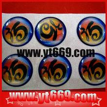 3D custom epoxy sticker/lable