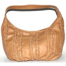 Korean style lady PU leather hobo handbag