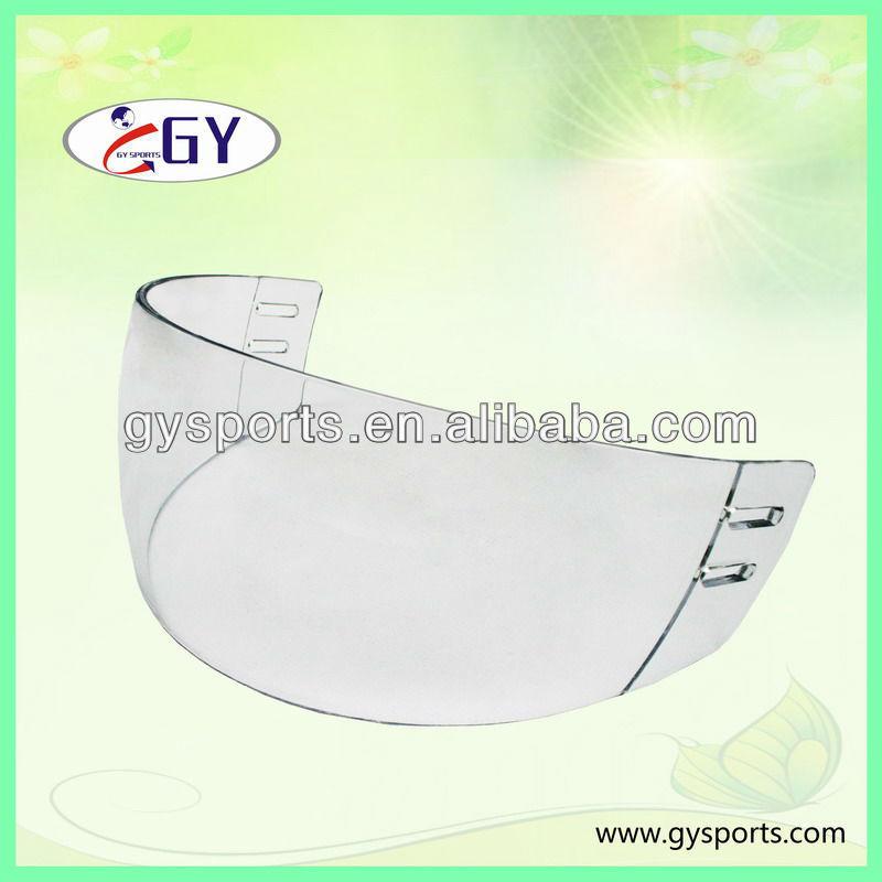 PC Clear Ice Hockey Visor ,visors for ice hockey helmets, visor with Double Coatings Protection helmet visor 100 series