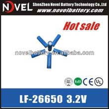 3.2V 2600mAh 26650 rechargeable Lifepo4 battery