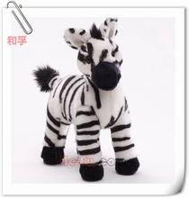 Plush Zebra Stuffed Wild Animal Toy