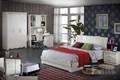 design moderne 2014 romantique chambre à coucher est faite de bois massif et panneaux mdf avec la sculpture