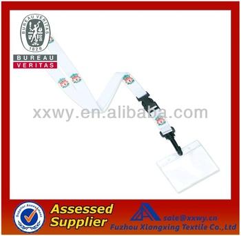 DIY Super Safe Name Card Heat Transfer Nylon/Polyester lanyards