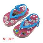 Saber SB-5357 2014 year fashion lastest design kids flip flop