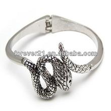 Retro Silver Luxury Fashion Lady Snake Bracelets