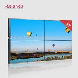 """55"""" Samsung LG A+ Panel HDMI/ DVI/ VGA/ AV/ Ultra narrow bezel LED Backlight LCD video wall display"""