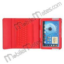 Bluetooth Keyboard for Samsung Galaxy Note 10.1 N8000 Wireless keyboard Leather Case