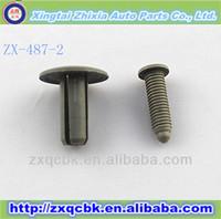 whole sale Pluggable auto plastic clip/push two parts auto plastic clips