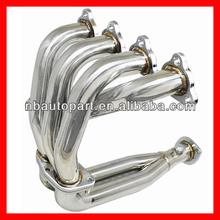 96-00 EK EM EX LX DX 1.5L 1.6L D15 D15 SOHC Stainless Steel Header for Honda Civic