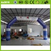 Popular advertising lovely cheap advertising PVC tarpaulin or oxford Logo printed cloth CE customized arch inflatable
